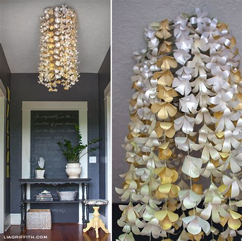 paper chandelier decorations diy paper flower chandelier paper papers