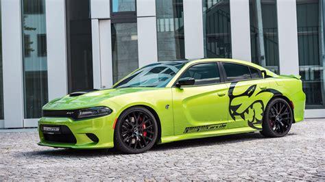 Car Wallpaper Green by Car Green Car Dodge Charger Hellcat Hd Wallpapers