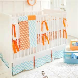 blue and orange crib bedding blue and orange crib bedding contemporary nursery
