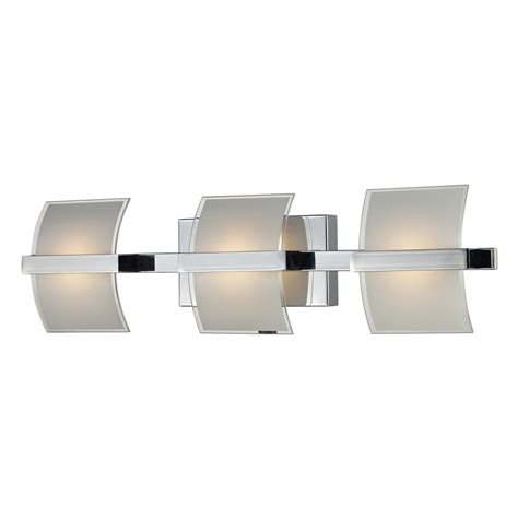 led bathroom lights vanity shop westmore lighting 3 light aprokko polished chrome led