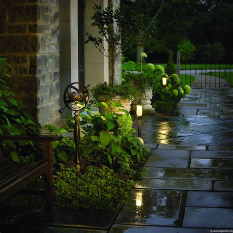portland landscapers offer unique lighting ideas for outdoor living areas