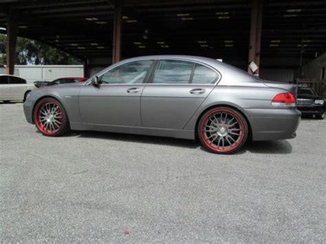 745i 2002 Bmw by Buy New 2002 Bmw 745i Sport 4 Door 4 4l 22 Quot Wheels