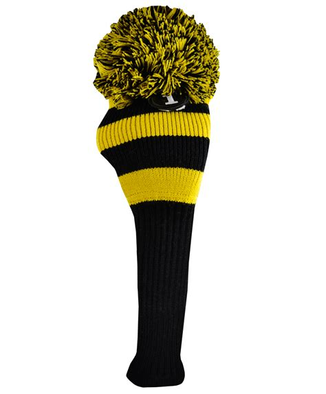 knit golf club headcovers cook pom pom knit driver cover by cook golf