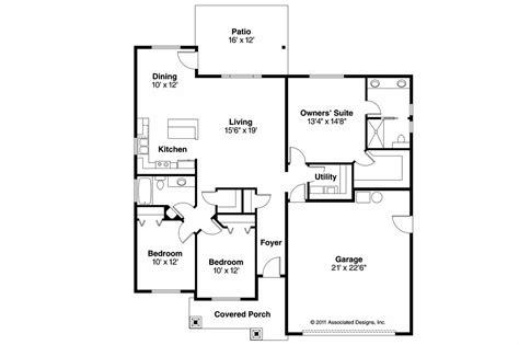 craftsman home floor plans craftsman house plans camas 30 711 associated designs
