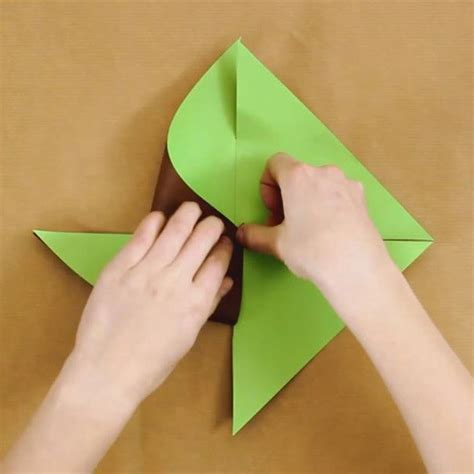 pinwheel craft for crafts and activities two colored paper pinwheel