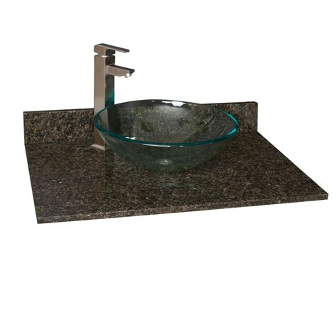 sink bathroom vanities with granite top 31 quot x 22 quot granite vessel sink vanity top vanity tops