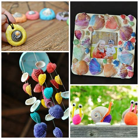 seashell crafts for adorable seashell craft ideas for crafty morning