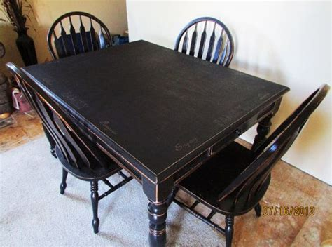 black kitchen table and chairs serene black distressed kitchen table and chairs