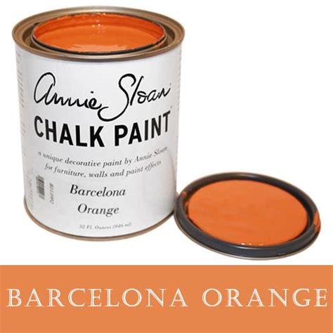 chalk paint barcelona 25 best ideas about orange furniture on