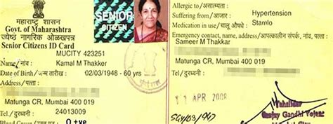 how to make senior citizen card senior citizen elderly id card its benefits by dignity