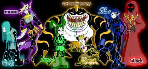 the seven sins the seven deadly sins wallpaper wallpapersafari