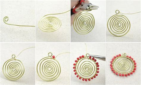 how to make wire jewelry pendants how to make a wire necklace in a sunflower pattern 183 how