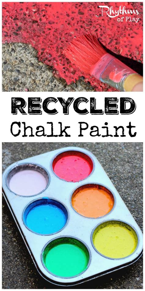 diy chalk paint outside diy recycled chalk paint for outdoor process