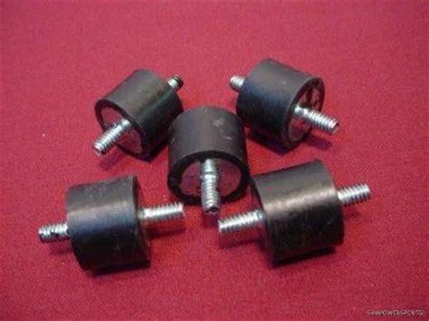 rubber st mounts 5 rubber gas tank mounts studs harley oem 62563 65