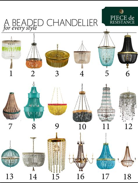 styles of chandeliers de resistance a beaded chandelier the anatomy of