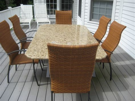 granite patio table granite patio table other metro by