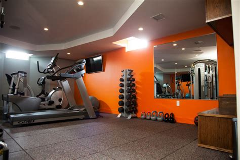 paint colors for exercise room milton basement fit out modern home boston by