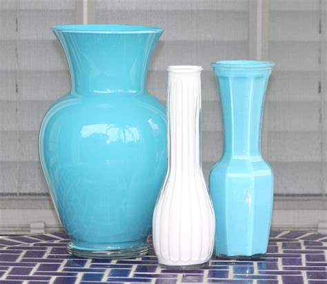acrylic paint on glass desperate craftwives acrylic painted vases
