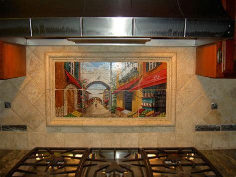 kitchen tile murals tile backsplashes tile murals in small spaces mediterranean kitchen san diego by murals by monti