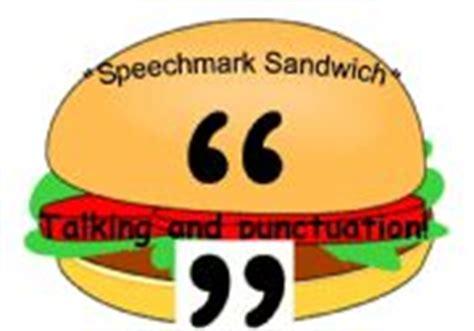 english worksheets quot speechmark sandwich quot