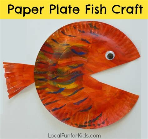 paper plate fish craft paper plate fish craft for local for