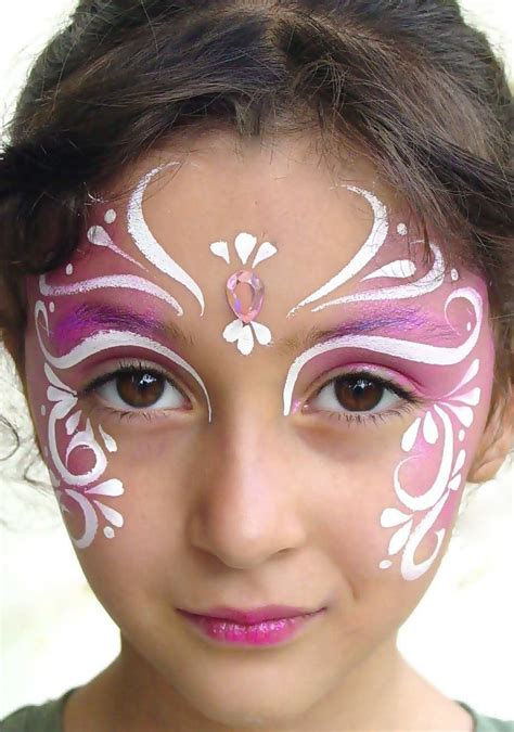 easy cheek designs easy cheek butterfly paint makeup idea