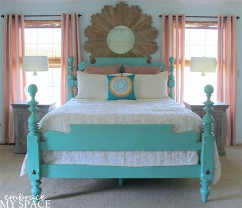 painted bed frames 1000 ideas about painted wood headboard on