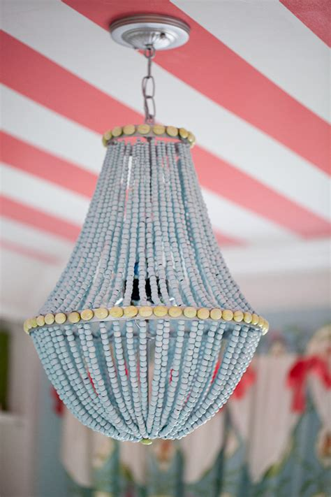 how to make a bead chandelier diy beaded chandelier decor hacks
