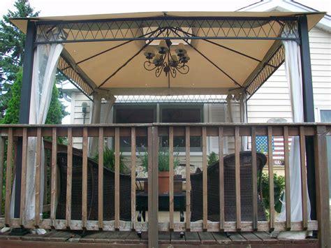 outdoor gazebo chandelier outdoor gazebo lighting ideas homesfeed