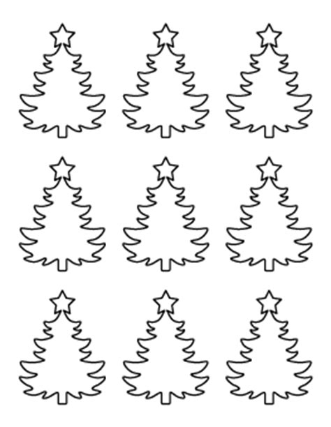 small tree pattern free patterns for crafts stencils and more