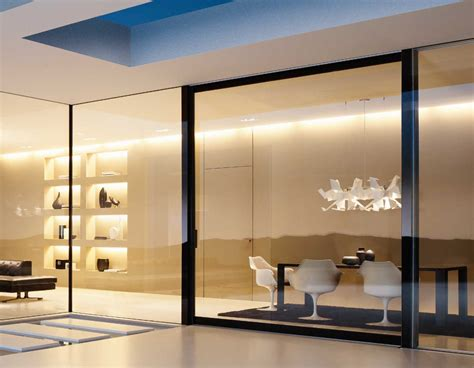glass wall design sliding wall system ideas