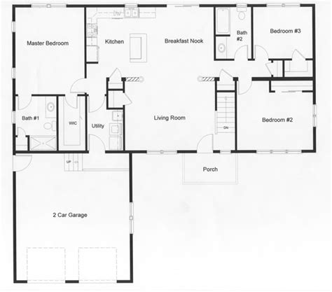 ranch home floor plans ranch kitchen layout best layout room