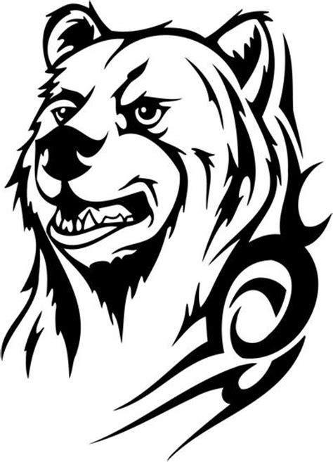 13 beautiful tribal bear tattoo only tribal
