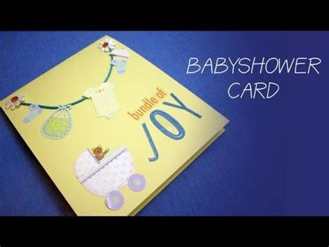 make a baby shower card how to make a simple baby shower money gift card for a boy