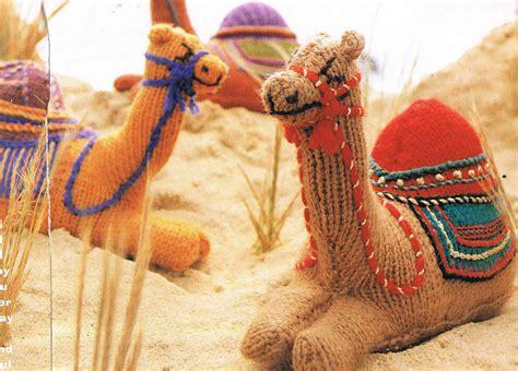 Adorable Nativity Camel Knitting Pattern