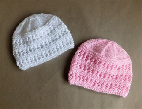 knit newborn baby hats free patterns two baby hat knitting patterns allfreeknitting