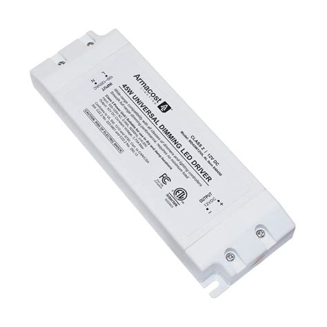 led lighting power supply armacost lighting 45 watt led power supply dimmable driver