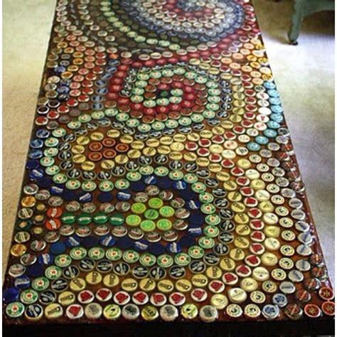 bottle cap table top 1000 images about bottle cap crafts on bottle