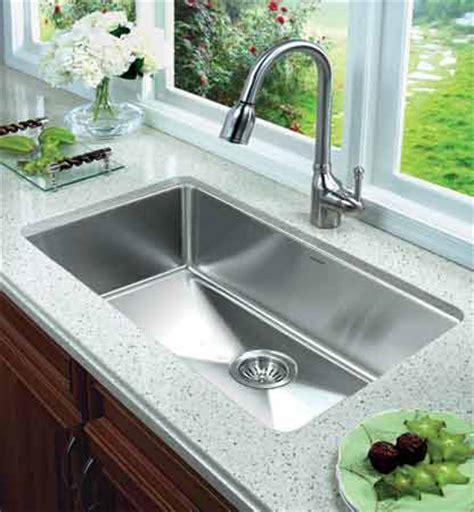 oversized kitchen sinks houzer nog 4150 nouvelle series 25mm radius undermount