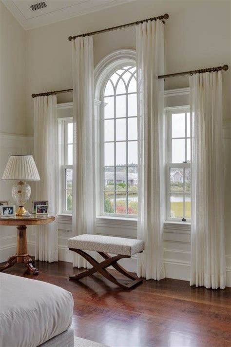 pictures of window treatments 25 best ideas about arched window curtains on