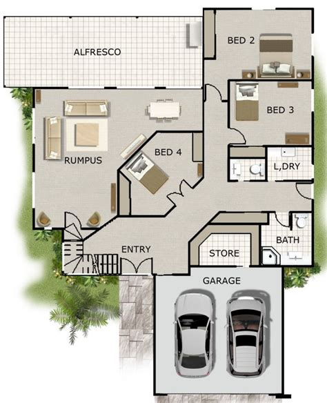 4 bedroom house designs australia 4 bedroom office rumpus rm kit home designs