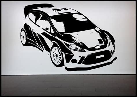 Car Wallpaper Stickers rally car racing car wall sticker bedroom decal mural wall