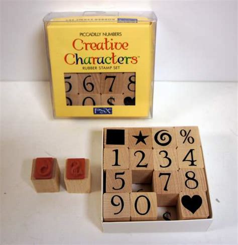 rubber st numbers set wholesale creative characters and numbers rubber st set