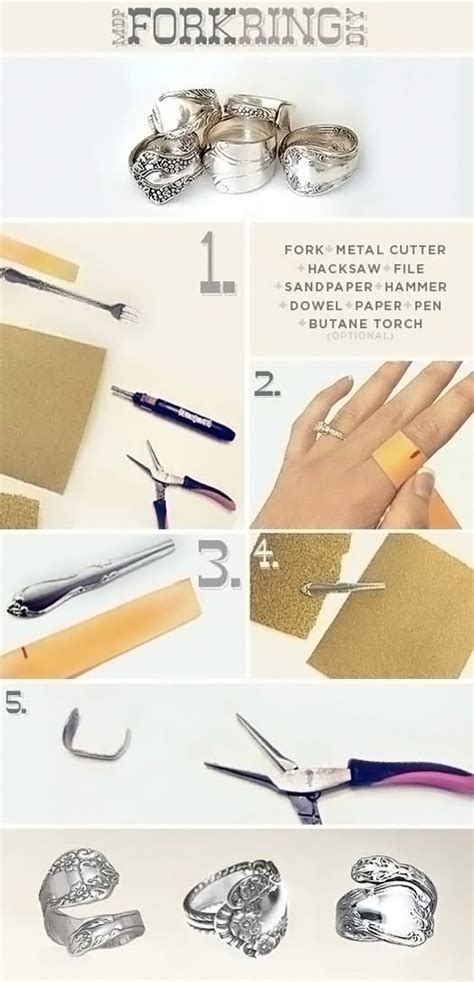 how to make silverware jewelry at home 20 diy jewelry ideas diy jewelry crafts with picture