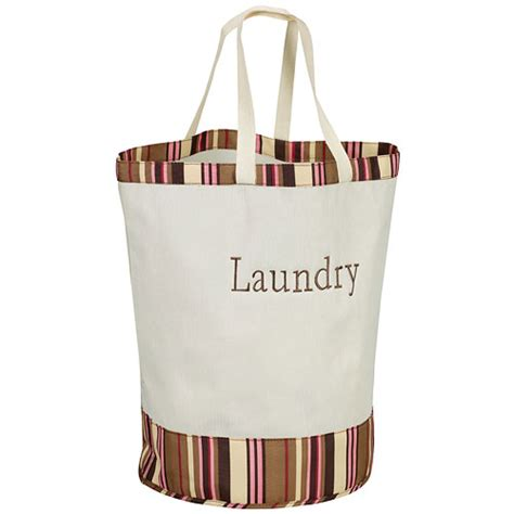 canvas laundry bag labeled canvas laundry bag stripes in laundry bags