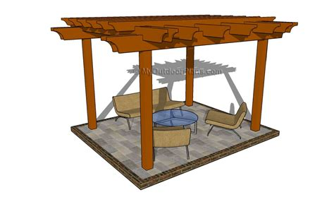 pergola blueprints free plans build a pergola attached to house furnitureplans