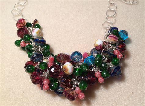 lima bead light squint necklace customer design lima