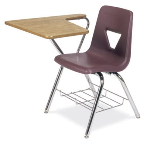 Tablet Arm Chair Desk by Virco Tablet Arm Chair Desk 2700br Combo Chair Desks