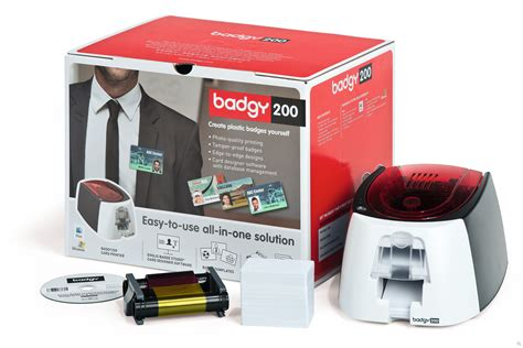 printers for card badgy 200 the affordable card printing solution evolis