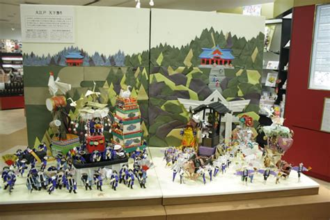 origami museum tokyo origamisan gallery